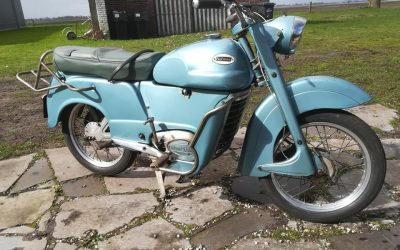 Monet Goyon Pullman W1 125cc uit 1957