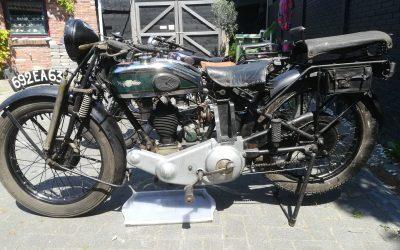 Magnat Debon MOS 250cc  uit 1930