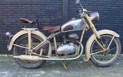 New Map LK 138 125cc uit 1948