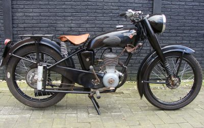 Motobecane D45S 125cc uit 1959