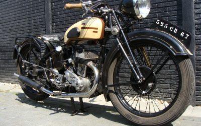 Monet Goyon PS47 350cc uit 1949
