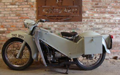 Velocette LE 200 uit 1969