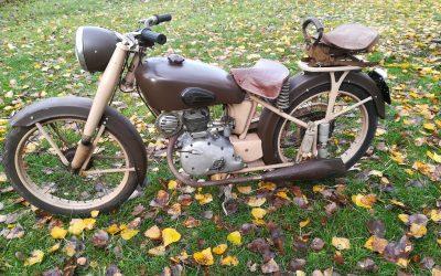Motoconfort C45s 125cc 4 takt 1956