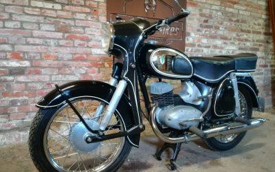 DKW RT175sv  uit 1956