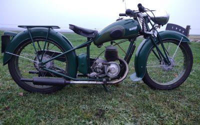 Ravat A48  125cc  uit 1949