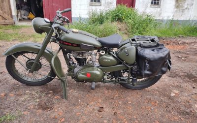 Terrot RGST Armée 500cc 1954